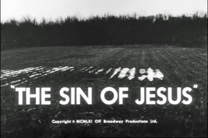 sin of jesus by isaac babel The sin of jesus (my trans) arina, a maid, lived by the main stairway in the hotel, and seryoga, a janitor's helper, lived by the back there was shame.